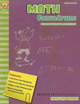 Math Conundrums (Paperback): Marjorie Frank