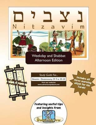 Bar/Bat Mitzvah Survival Guides - Nitzavim (Weekdays & Shabbat PM) (Paperback): Elliott Michaelson Majs