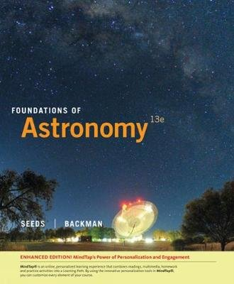 Foundations of Astronomy, Enhanced (Hardcover, 13th edition): Dana Backman, Michael Seeds