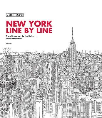 New York Line by Line (Hardcover): Robinson