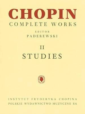 Studies - Chopin Complete Works Vol. II (Paperback):