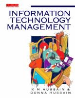 Managing Information Technology - A Practical Guide (Paperback): K.M. Hussain
