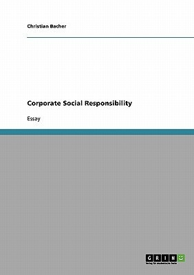 Corporate Social Responsibility (Paperback): Christian Bacher