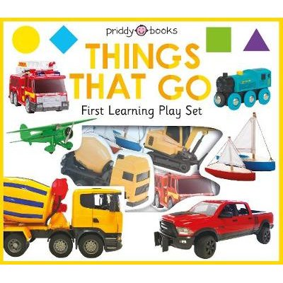 First Learning Play Set: Things That Go (Board book): Roger Priddy