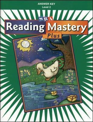Reading Mastery 2 2001 Plus Edition, Answer Key (Book, Plus ed): McGraw-Hill Education
