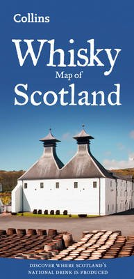 Whisky Map of Scotland (Sheet map, folded, New edition): Collins Maps