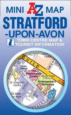 Stratford on Avon Mini Map (Sheet map, folded, 3rd edition): Geographers' A-Z Map Company