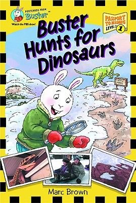 Postcards From Buster: Buster Hunts for Dinosaurs (L1) - First Reader Series (Paperback): Marc Brown