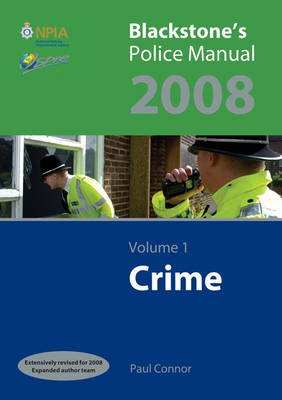 Crime 2008, v. 1 (Paperback, Revised edition): Paul Connor