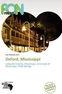 Oxford, Mississippi (Paperback):