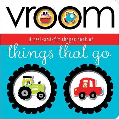 Fit and Feel Vroom (Board book): Thomas Nelson