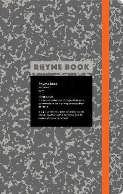 Rhyme Book: A lined notebook with quotes, playlists, and rap stat (Paperback): Eric Rosenthal