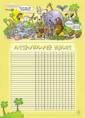 Adam Names the Animals Attendance Chart (Miscellaneous printed matter): Broadman & Holman Publishers