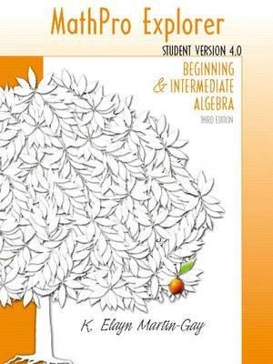 MathPro4 Student (CD-ROM, 3rd Revised edition): Elayn Martin-Gay