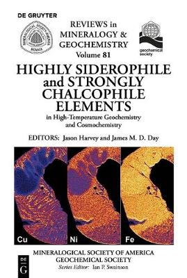 Highly Siderophile and Strongly Chalcophile Elements in High-Temperature Geochemistry and Cosmochemistry (Paperback): James E....