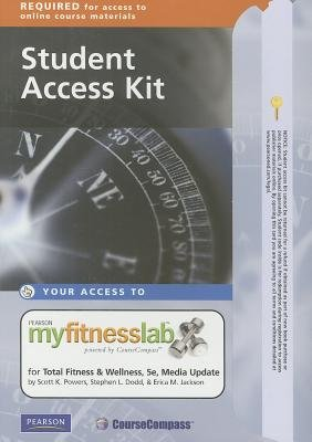 MyFitnessLab Student Access Code Card for Total Fitness and Wellness, Media Update (Online resource, 5th Revised edition):...