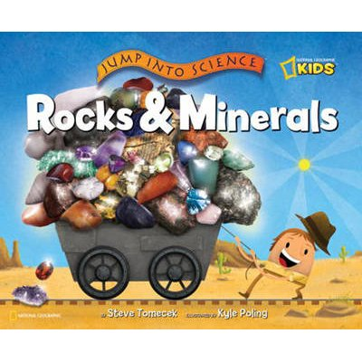 Jump into Science - Rocks and Minerals (Hardcover): Steve Tomecek