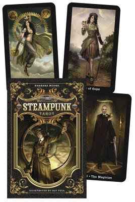 The Steampunk Tarot (Paperback): Barbara Moore, Aly Fell