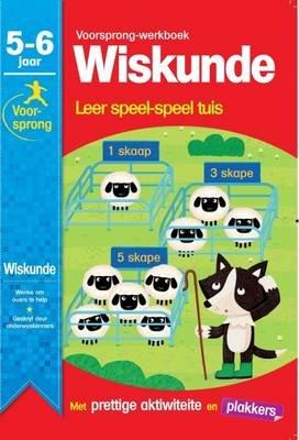 Voorsprong-Werkboek Wiskunde, 5 - 6 jaar - Leer Speel-Speel Tuis (Afrikaans, Staple bound): Carrie Lewis