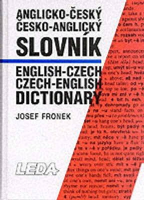 English-Czech and Czech-English Dictionary - Thumb Index (Hardcover, New edition): Josef Fronek