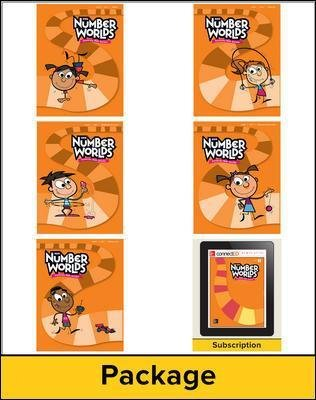 Number Worlds Level E, Student Materials Bundle (5 students, 1-year) (Book): McGraw-Hill Education, Sharon Griffin,...