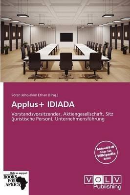 Applus+ Idiada (German, Paperback): S Ren Jehoiakim Ethan