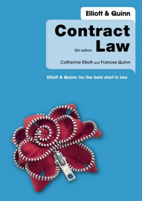 Contract Law (Paperback, Package ed): Catherine Elliott, Frances Quinn, Jon Rush
