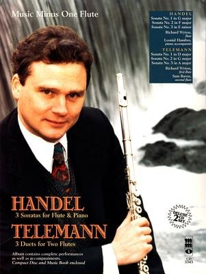 Handel - Sonatas for Flute & Piano; Telemann - 3 Duets for Two Flutes - Deluxe 2-CD Set (Paperback): George Frederick Handel,...