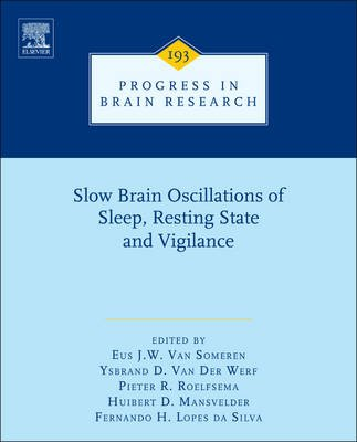 Slow Brain Oscillations of Sleep, Resting State and Vigilance, Volume 193 (Hardcover, New): E. J. Van Someren
