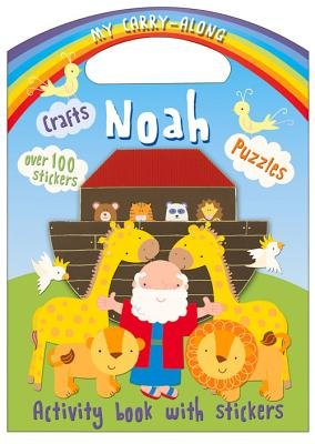 My Carry-Along Noah - Activity Book with Stickers (Paperback): Jocelyn Miller