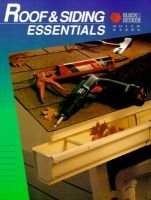 Roof & Siding Essentials (Paperback):