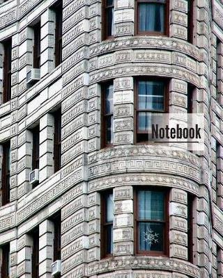 Notebook - 150 Page, 8x10 Inch College Ruled Composition Notebook for Writing. Great for Teenagers (Building in Nyc)...
