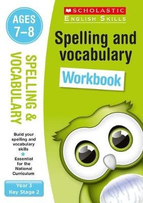 Spelling and Vocabulary Workbook (Year 3) (Paperback): Christine Moorcroft