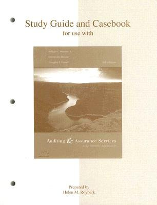 Auditing and Assurance Services: Study Guide (Paperback, 4th Revised edition): Steven M. Glover, Douglas F Prawitt, William F...