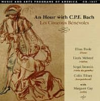 Various Artists - An Hour With C.p.e. Bach (CD): By: Les Coucous Bénévoles, Colin Tilney, Elissa Poole, Linda Melsted,...