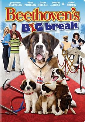 Beethovens Big Break (Region 1 Import DVD): Jonathan Silverman, Eddie Griffin, Mike Elliott
