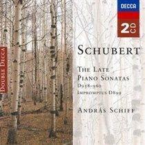 Franz Schubert - Late Piano Sonatas, The (Schiff) (CD, Imported): Franz Schubert, Andras Schiff