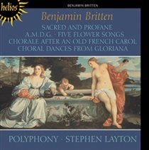 Various Artists - Benjamin Britten: Sacred and Prophane/A.M.D.G./... (CD): Benjamin Britten, Stephen Layton, Polyphony
