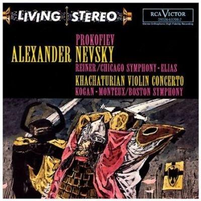 Prokofiev Sergei / Khachaturian Aram - Alexander Nevsky/Con Vn CD (2000) (CD): Prokofiev/Khachaturian