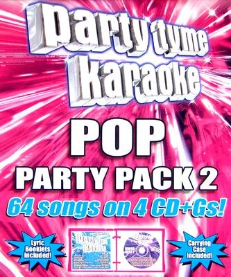 Sybersound Karaoke - Pop Party Pack 2 (CD): Various Artists, Sybersound Karaoke