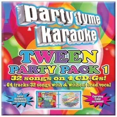 Party Tyme Karaoke:tween Party Pack 1 CD (2014) (CD):