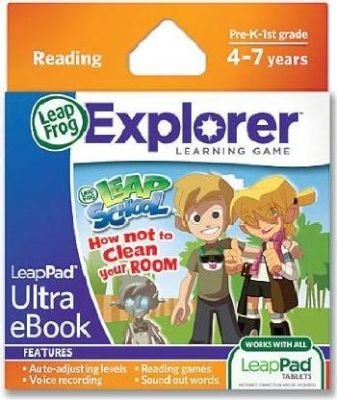 LeapFrog LeapPad Ultra eBook Leapschool How Not To Clean Your Room (Leapster Explorer):