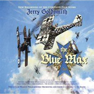 Jerry Goldsmith / The City of Prague Philharmonic Orchestra and Choir - The Blue Max (CD): Jerry Goldsmith, The City of Prague...