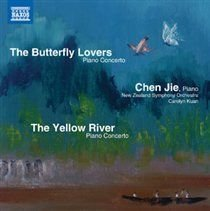 Various Artists - The Butterfly Lovers Piano Concerto/... (CD): Chen Jie, Carolyn Kuan, New Zealand Symphony Orchestra,...
