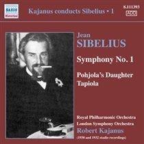 Various Artists - Jean Sibelius: Symphony No. 1/Pohjola's Daughter/Tapiola (CD): Jean Sibelius, Robert Kajanus, Royal...