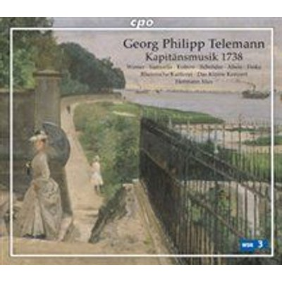 Various Artists - Georg Philipp Telemann: Kapitänsmusik 1738 (CD): Georg Philipp Telemann, Veronika Winter, Cornelia Samuelis,...