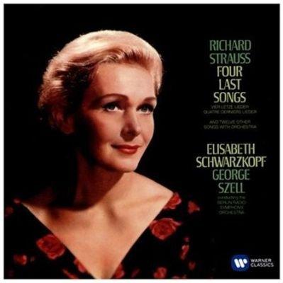 Various Artists - Elisabeth Schwarzkopf: Richard Strauss: Vier Letzte Lieder (Vinyl record): Richard Strauss, Elisabeth...