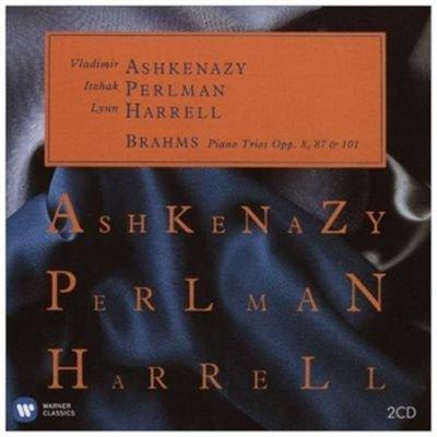 Various Artists - Brahms: Piano Trios, Opp. 8, 87 & 101 (CD): Johannes Brahms, Vladimir Ashkenazy, Itzhak Perlman, Lynn Harrell