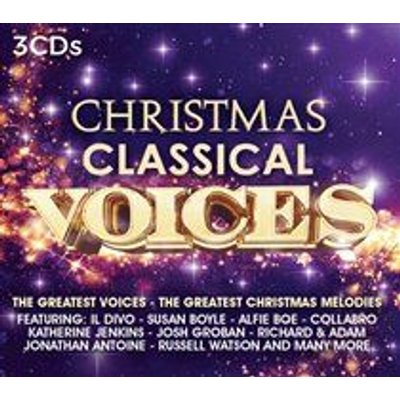 Various Artists - Christmas Classical Voices (CD): Various Artists, Adolphe Adam, Charles Gounod, George Frideric Handel, Cesar...