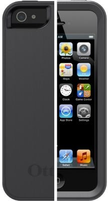 OtterBox Reflex Vapor Shell Case for iPhone 5 (Clear Translucent and Slate Grey):